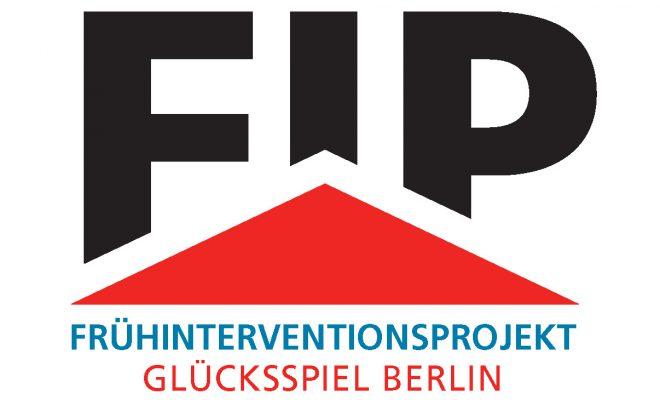 Logo Frühinterventionsprojekt Glücksspiel Berlin klein